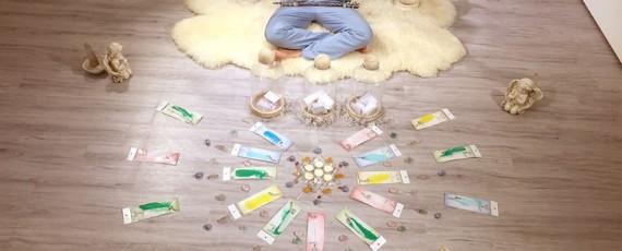 讓天使 為您帶來祝福之光- 天使祈福信 火典儀式-天使能量屋